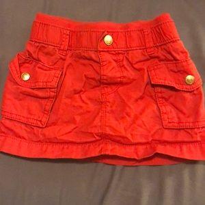 Toddler OLD NAVY cargo skirt